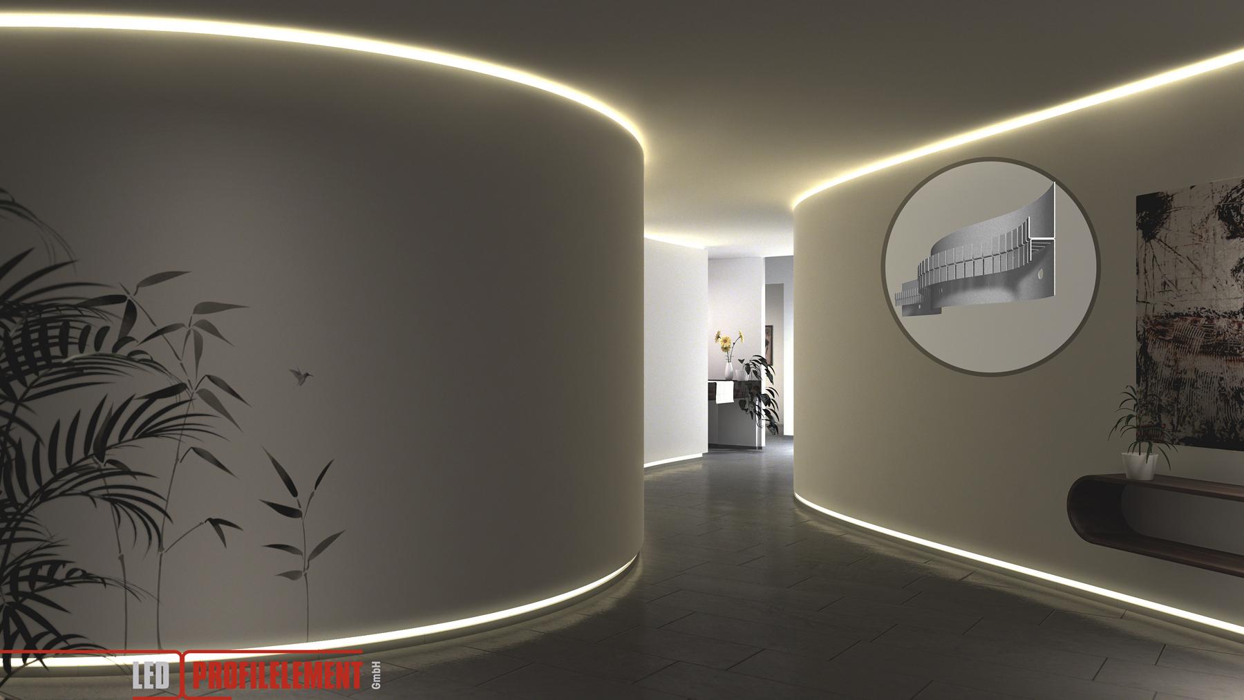 hera lighting uk burcridge ltd led profile element. Black Bedroom Furniture Sets. Home Design Ideas